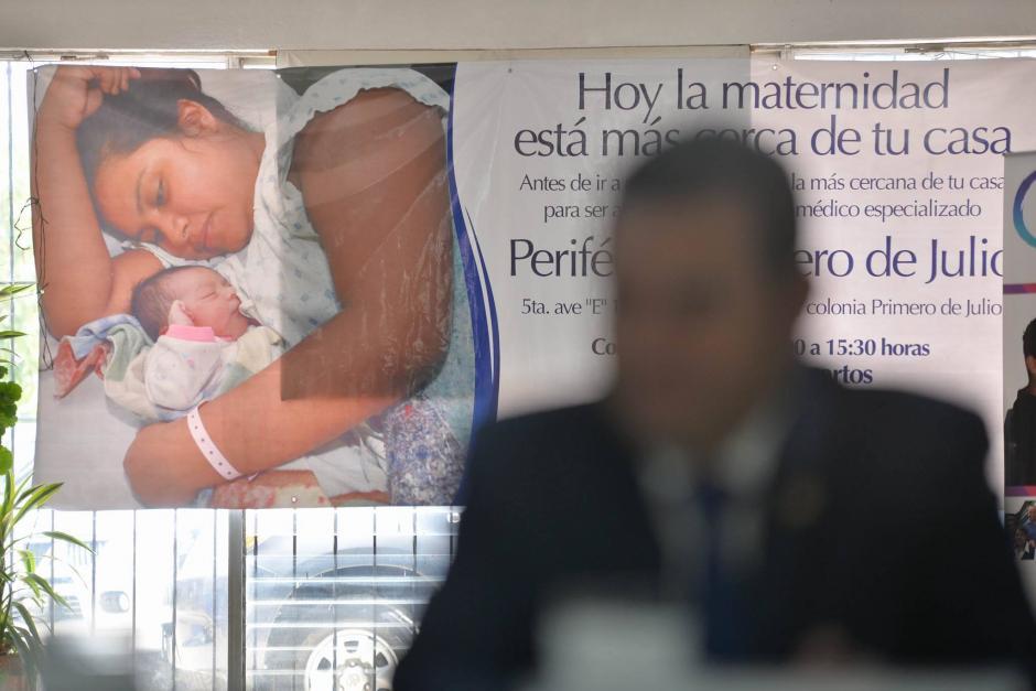 """La """"reinauguración"""" incluyó la habilitación de un servicios de atención materna las 24 horas del día (Foto: Wilder López/Soy502)"""