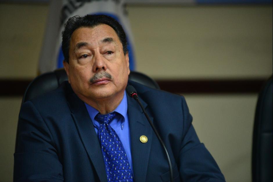 El ministro de Salud, Alfonso Cabrera, formalizó su salida del gobierno este miércoles. (Foto; Archivo/Soy502)