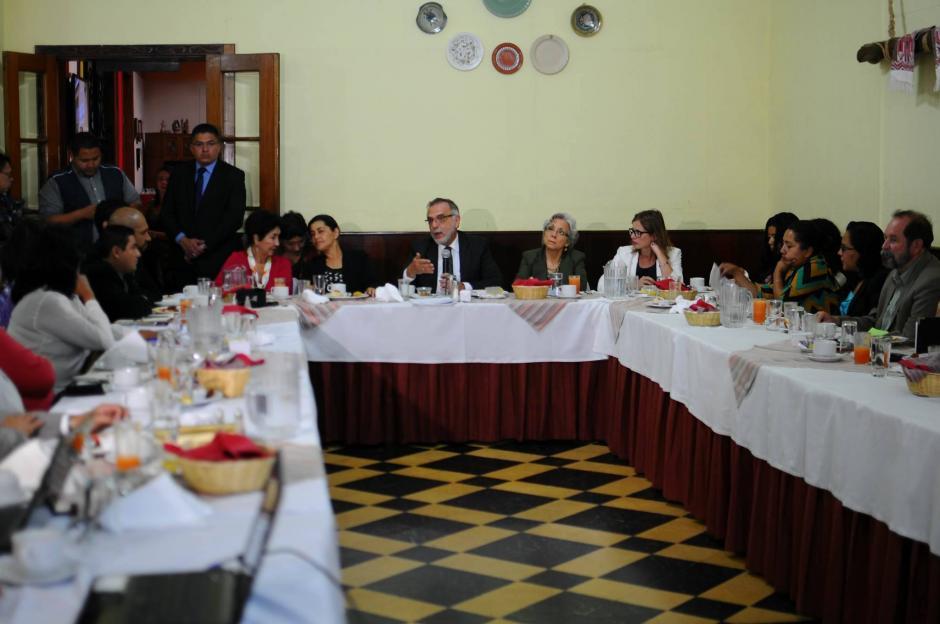 Iván Velásquez, Comisionado de CICIG participa en discusión de Reformas a la carrera judicial. (Foto: Alejandro Balán/Soy502)