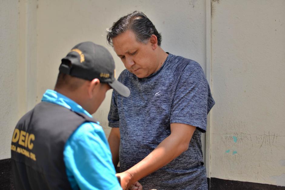 El maestro Gustavo Adolfo Ascencio deberá permanecer en la carceleta hasta que sea escuchado. (Foto: Wilder López/ Soy502)
