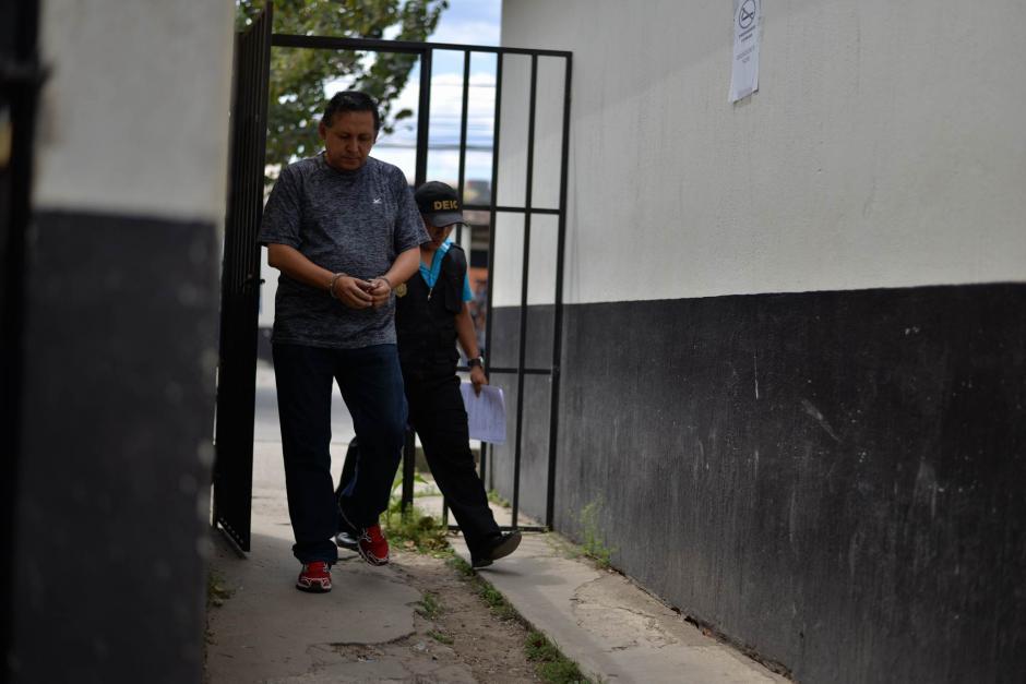 El maestro Gustavo Ascencio se encontraba como suplente del docente de natación. (Foto: Wilder López/ Soy502)