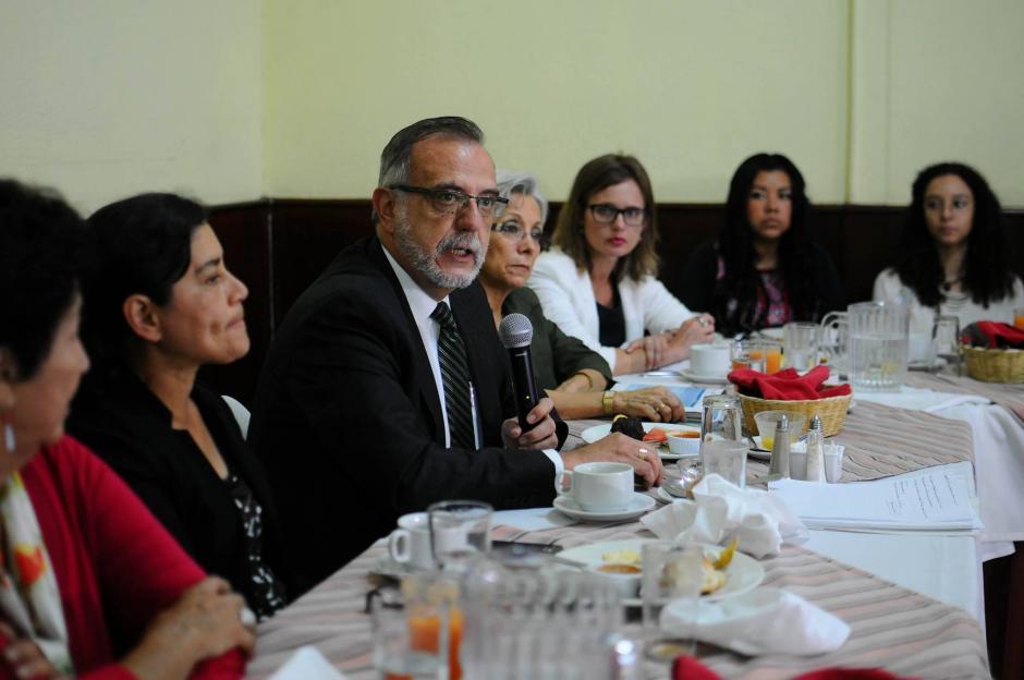 El Comisionado de CICIG, consideta que es necesaria la aprobación de las Reformas a la Ley de Carrera Judicial.  (Foto: Alejandro Balán/Soy502)