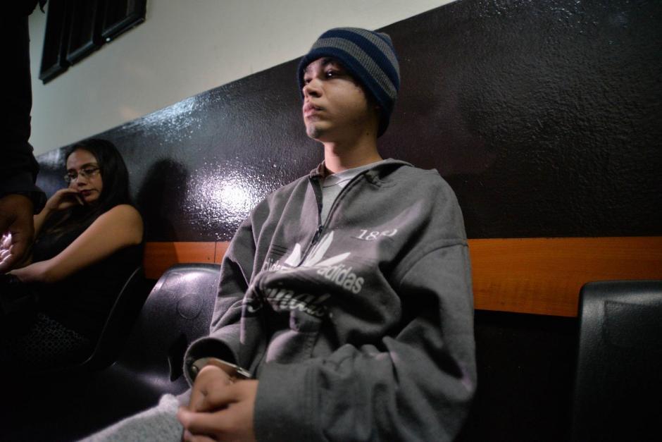 Alex Cifuentes González fue ligado a proceso por su aparente implicación en la explosión de una bomba en el interior de un bus en San José Pinula. (Foto: Wilder López/Soy502)