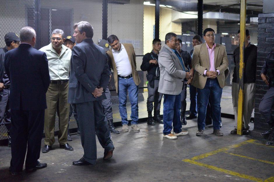 A los detenidos se les sindica de cometer usurpación agravada, lavado de dinero y asociación ilícita. (Foto: Wilder López/Soy502)