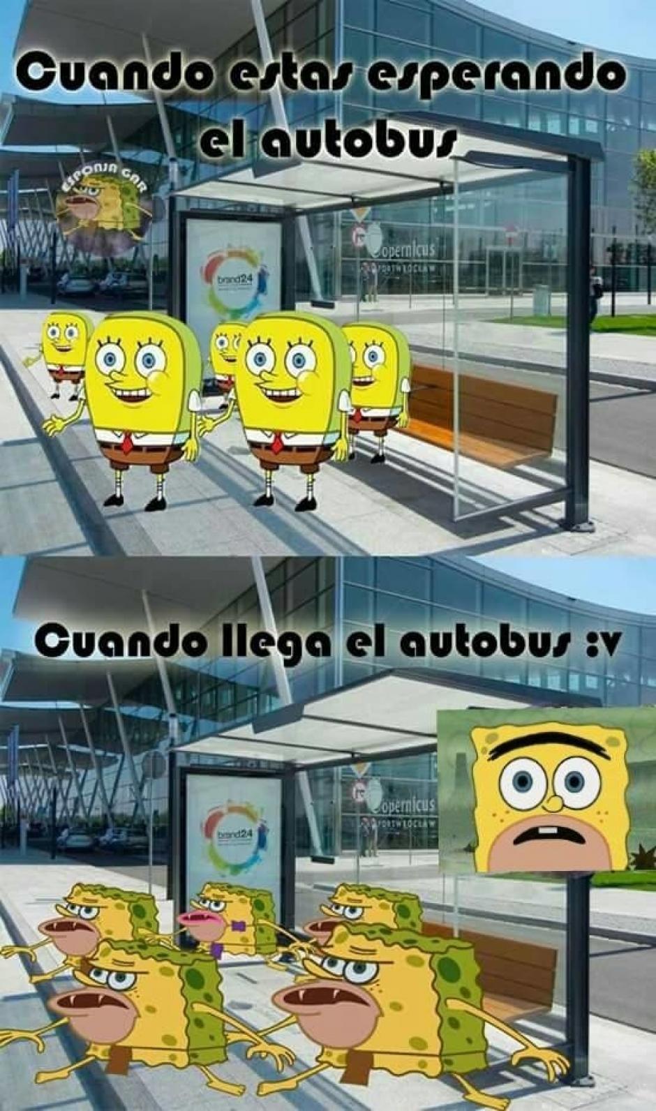 El ingenio de los internautas se ha reflejado en los múltiples memes de Bob Esponja cavernícola. (Foto: notinerd.com)
