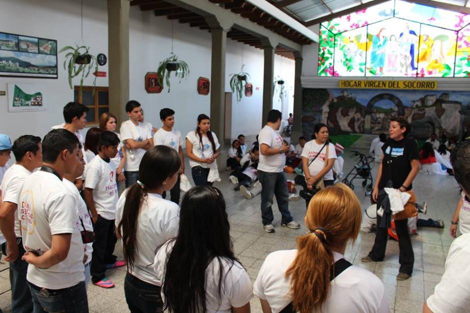 El Centro de Voluntariado Guatemalteco cuenta con varios grupos a los que te puedes integrar. (Foto: Centro de Voluntariado Guatemalteco)