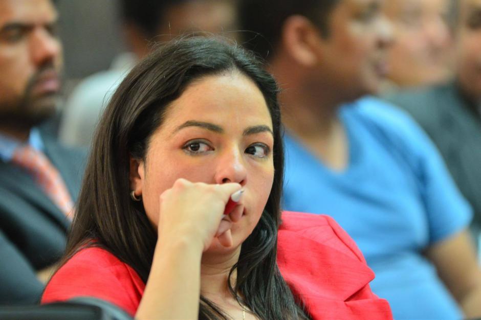 Bárbara Rosas tiene la difícil misión de defender a Jonathan Chévez. (Foto: Jesús Alfonso/Soy502)
