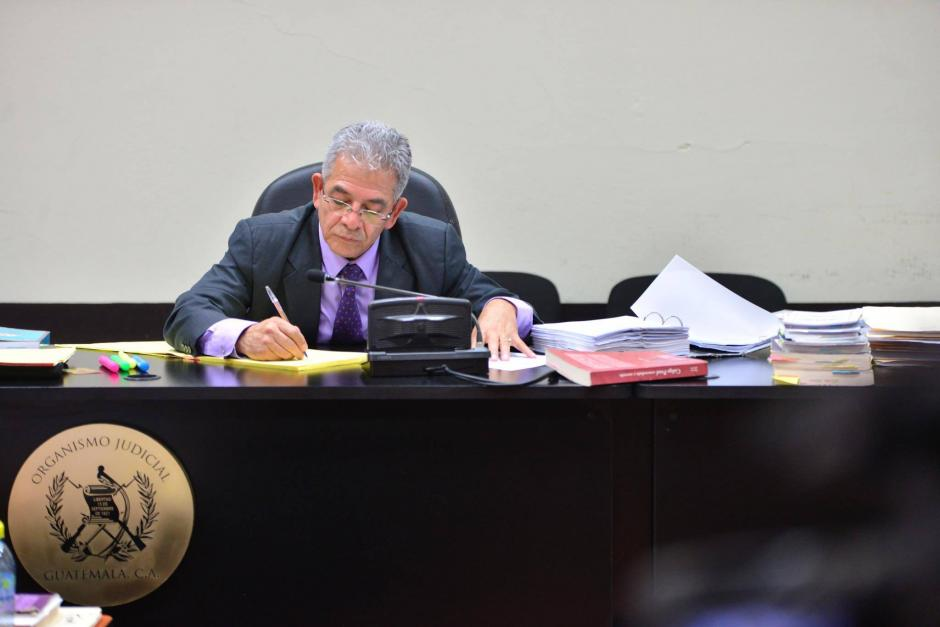 Miguel Ángel Gálvez es el titular del juzgado B de Mayor Riesgo desde hace 5 años. (Foto. Archivo/Soy502)