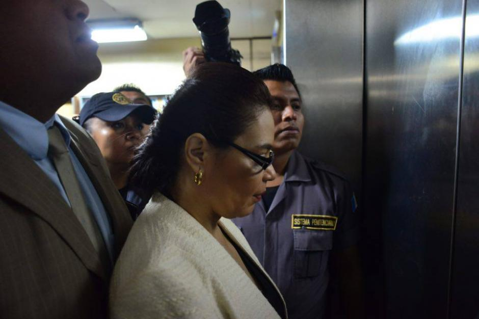 La exvicemandataria Baldetti podría quedar ligada a proceso por el caso TCQ. (Foto: Jesús Alfonso/Soy502)