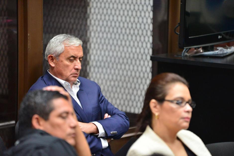 Otto Pérez y Roxana Baldetti continuarán en prisión preventiva, ahora por el caso TCQ. (Foto: Jesús Alfonso/Soy502)
