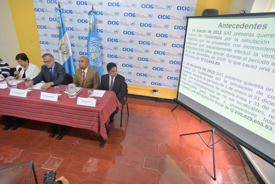 Aceros de Guatemala pagó su multa y reduce la brecha de recaudación.  (Foto: Wilder López/ Soy502)