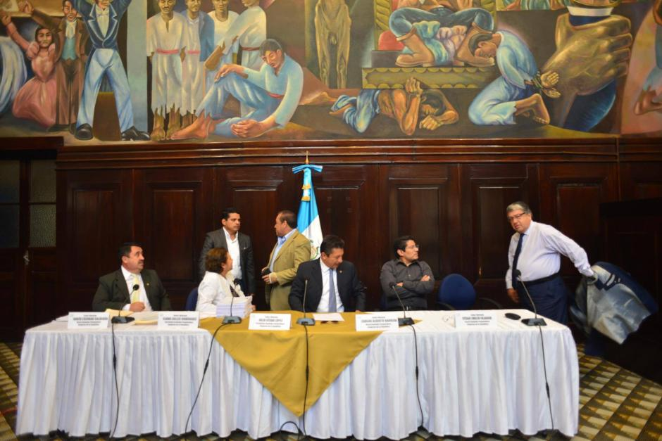 Se espera que el jueves, el Pleno conozca el informe de la pesquisidora. (Foto: Jesús Alfonso/Soy502)