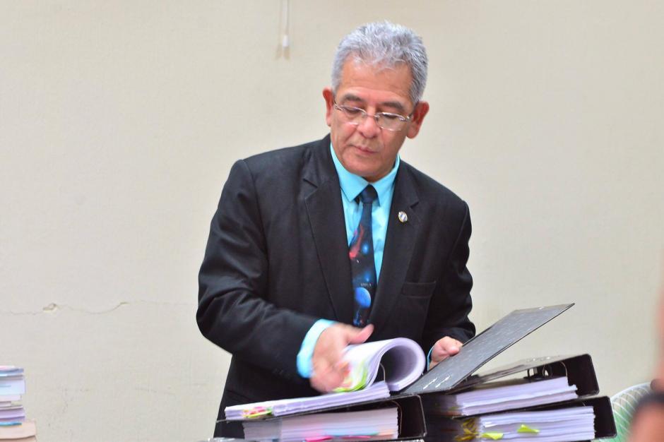 El juez Miguel Ángel Gálvez ligó a proceso a los 12 sindicados en el caso TCQ. (Foto: Jesús Alfonso/Soy502)