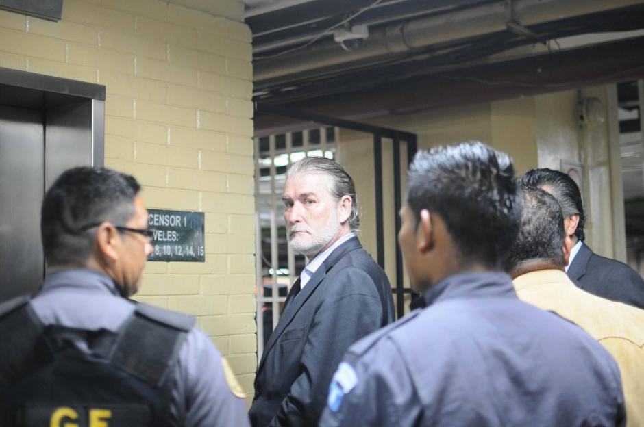 El español Juan José Suárez llega a Tribunales para la continuación de audiencia de primera declaración por el caso TCQ. (Foto: Alejandro Balán/Soy502)