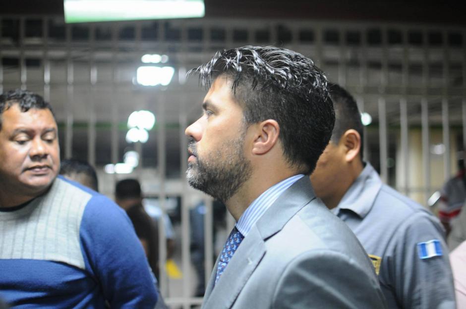 El sindicado Jonathan Chévez llega a Tribunales para el noveno día de audiencia de primera declaración. (Foto: Alejandro Balán/Soy502)