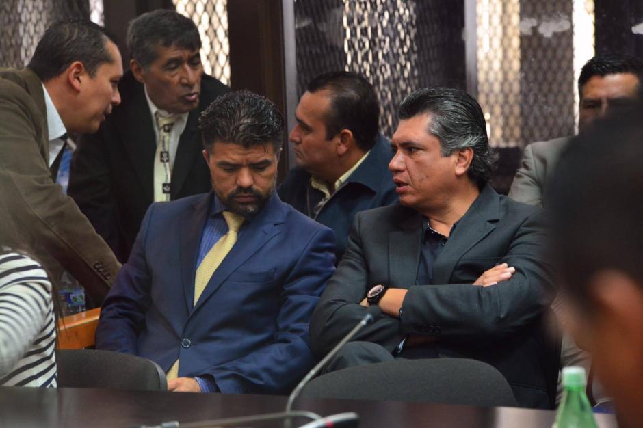 Gustavo Martínez y Jonathan Chévez fueron ligados a proceso por el caso TCQ. (Foto: Jesús Alfonso/Soy502)
