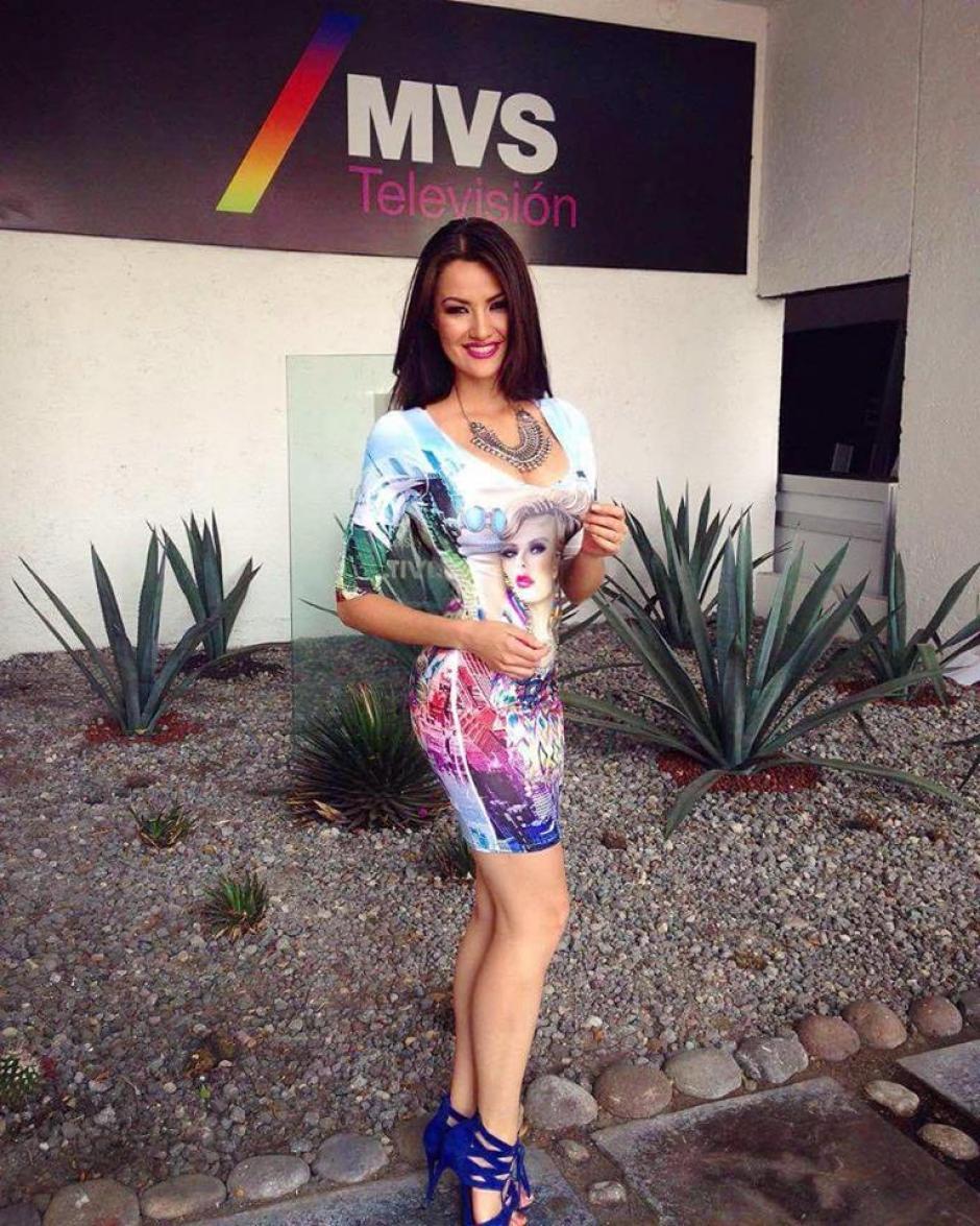 La presentadora guatemalteca trabaja para la televisora MVS de México. (Foto: Lourdes Figueroa)