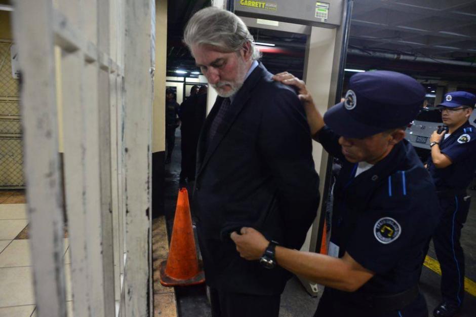 El español Juan José Suárez llega a Tribunales para la continuación de la audiencia de primera declaración por el caso TCQ.  (Foto: Jesús Alfonso/Soy502)