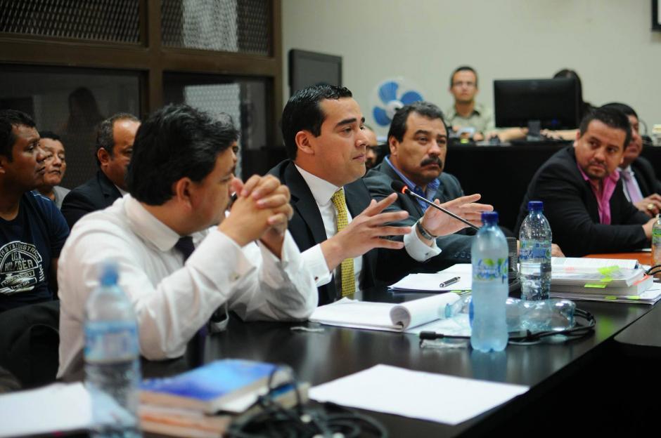 Los abogados defensores solicitaron que se resuelva la falta de mérito a favor de sus clientes. (Foto: Alejandro Balán/Soy502)