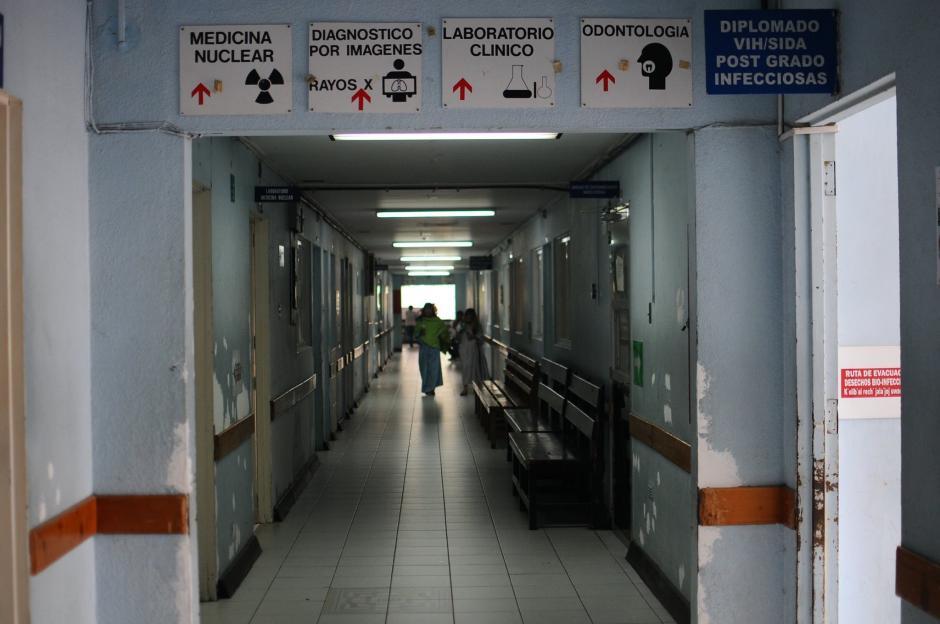 Las instalaciones del Hospital Roosevelt necesitan mantenimiento. (Foto: Soy502)