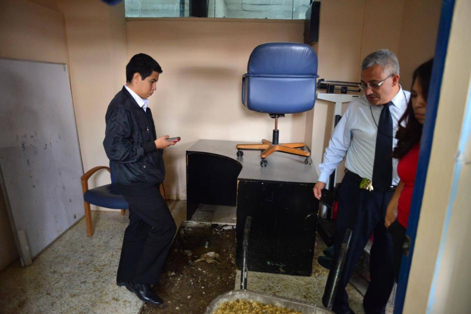 La tubería no soportó la presión del agua, aunque todo se debería a una mala instalación. (Foto: Jesús Alfonso/Soy502)