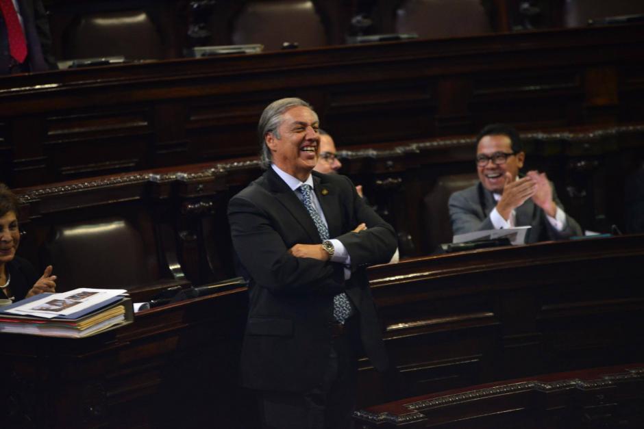 Luis Fernando Montenegro Flores, diputado de Encuentro por Guatemala, presidirá la pesquisidora. (Foto: Jesús Alfonso/Soy502)
