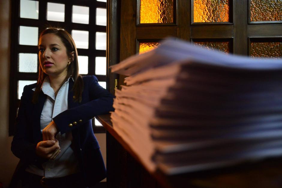Alejandra Carrillo considera que el reglamento del Adolfo V. Hall es homofóbico y sexista. (Foto: Jesús Alfonso/Soy502)