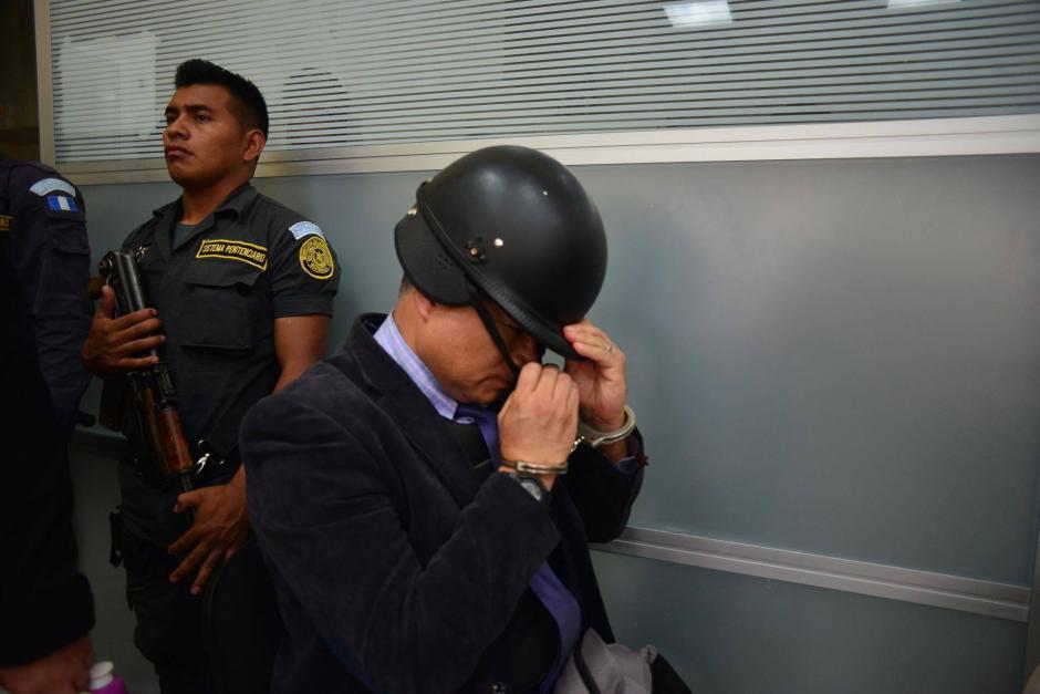 """""""Eco"""" fue citado por el Juzgado Tercero Penal para la revisión de la medida por el caso conocido como Bufete de la Impunidad.  (Foto: Jesús Alfonso/ Soy502)"""