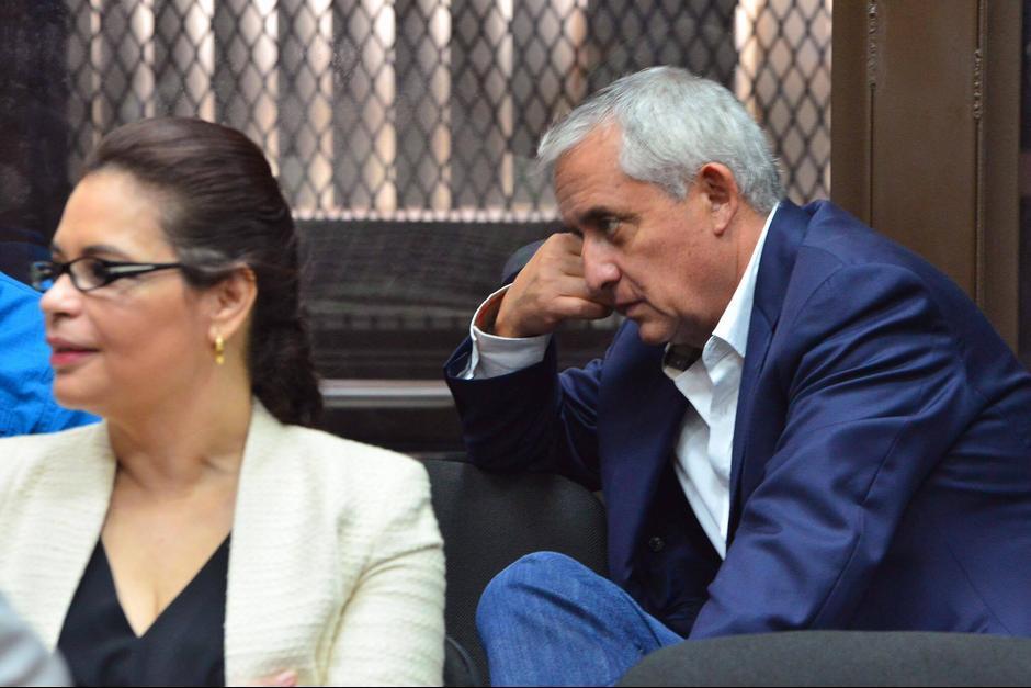 El MP ubica al exbinomio presidencial como cabecillas de la red de corrupción TCQ. (Foto: Archivo/Soy502)