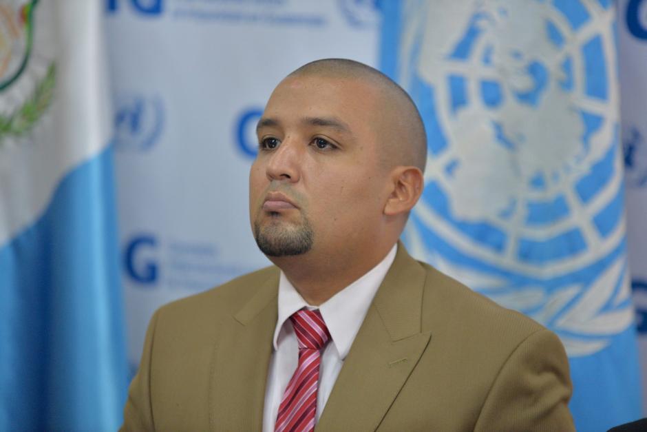 El Superintente de la SAT Juan Solórzano Foppa brinda detalles del caso Aceros de Guatemala. (Foto: Wilder López/ Soy502)