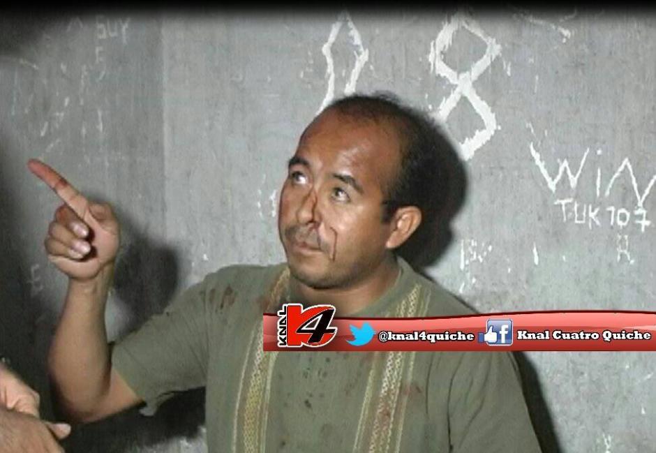 El sacerdote Mayolo Cruz Hernández fue capturado junto a su hermano. (Foto: Knal 4 Quiché)