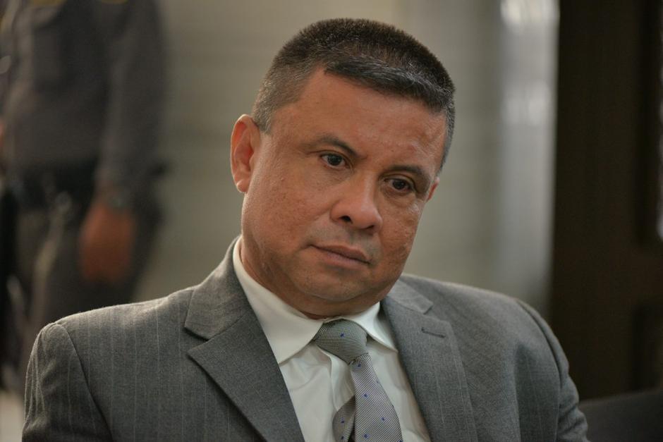 Francisco Morales Guerra declaró durante cinco horas sobre el supuesto lavado y financiamiento electoral. (Foto: Wilder López/Soy502)