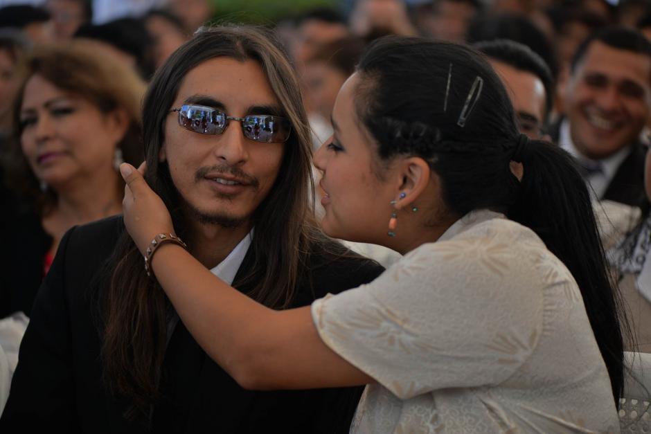 La boda masiva fue organizada por el Registro Nacional de las Personas. (Foto: Wilder López/Soy502)