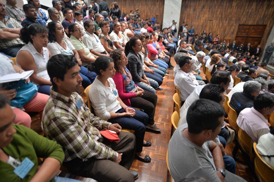 Los inconformes señalan que nunca se realizó una consulta comunitaria para la construcción de la mina. (Foto: Wilder López/Soy502)