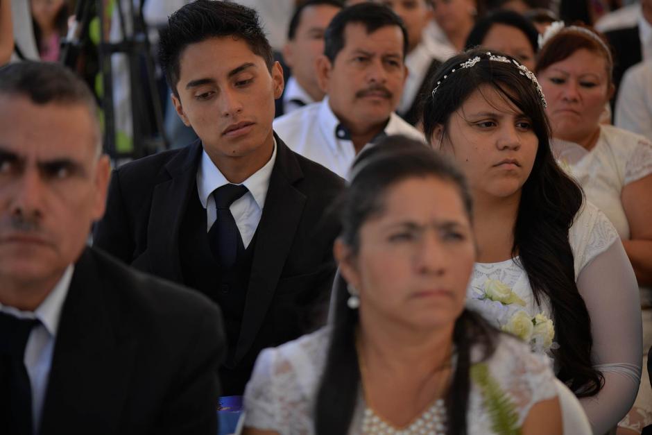 La Asociación La Familia Importa apoyó al Renap en la boda masiva. (Foto: Wilder López/Soy502)