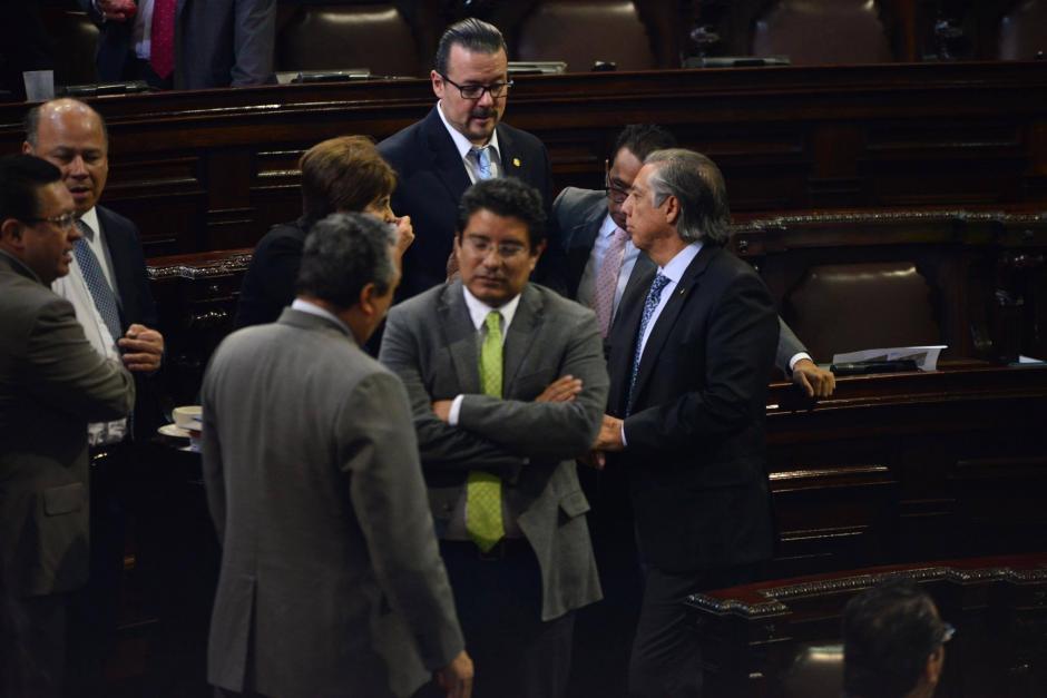 Carlos Barreda, de la UNE, será el Secretario de la comisión. (Foto: Jesús Alfonso/Soy502)