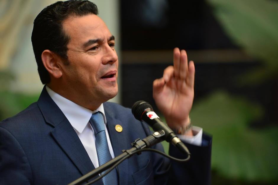 Morales explicó que a partir del lunes el gobierno va a lanzar la campaña de publicidad. (Foto: Jesús Alfonso/Soy502)
