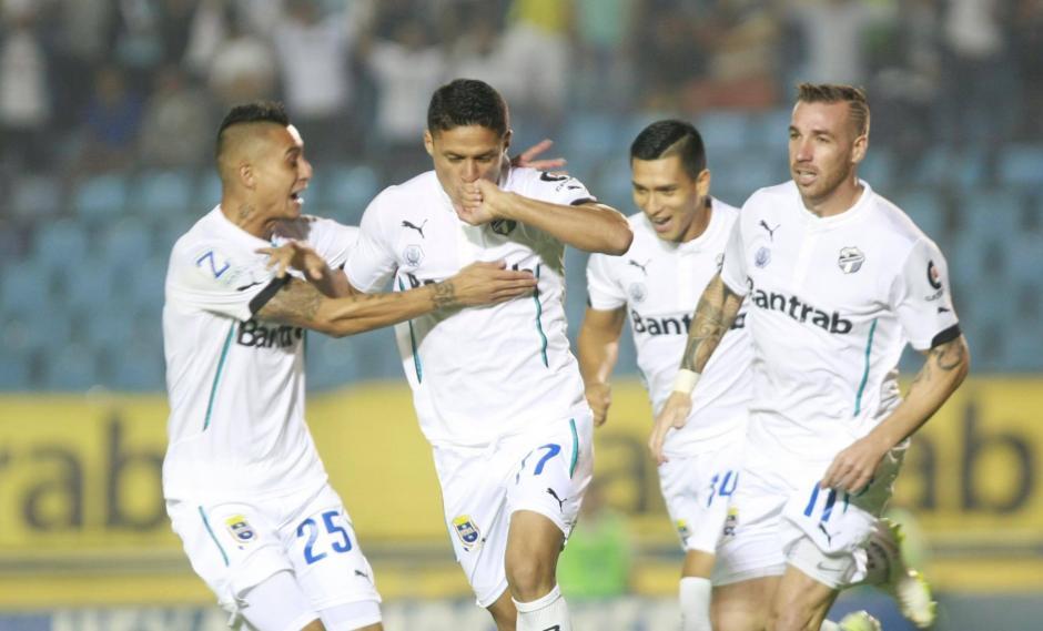 Arreola anotó el segundo gol más rápido en clásicos. (Foto: Luis Barrios/Soy502)
