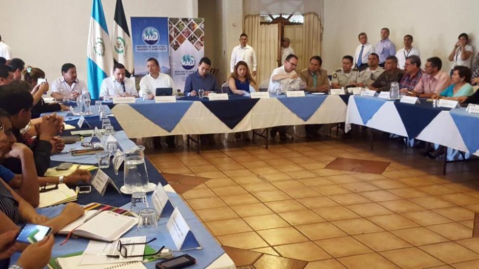 El Presidente se reunió con Gobernadores en Mazatenango (Foto: Gobierno de Guatemala)