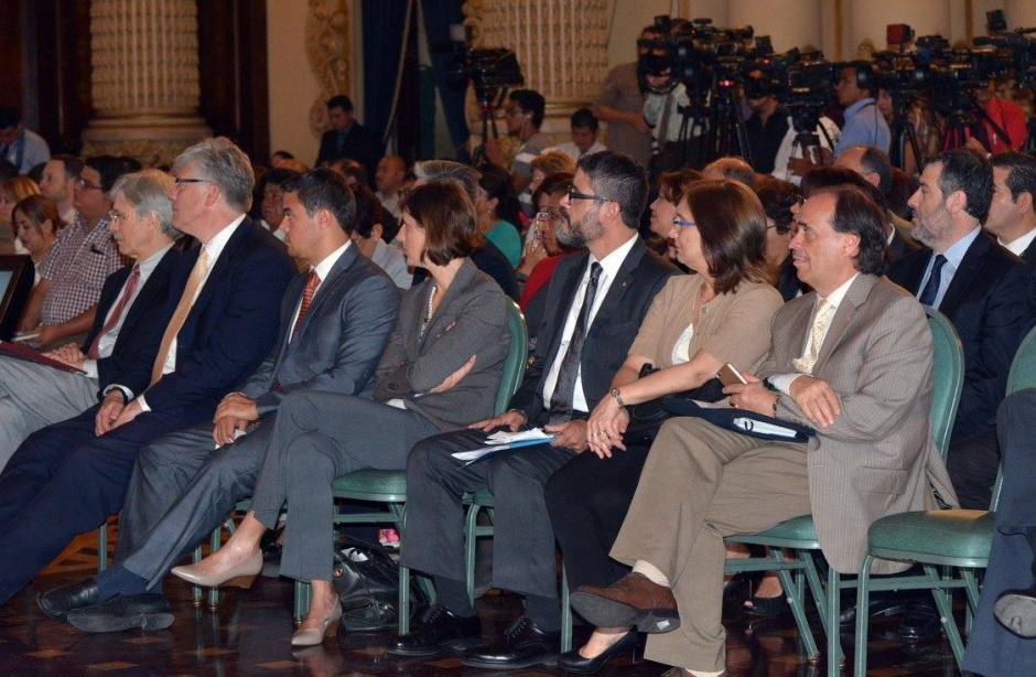 En el acto estuvieron presentes representantes de la sociedad civil. (Foto: Ministerio de Salud)