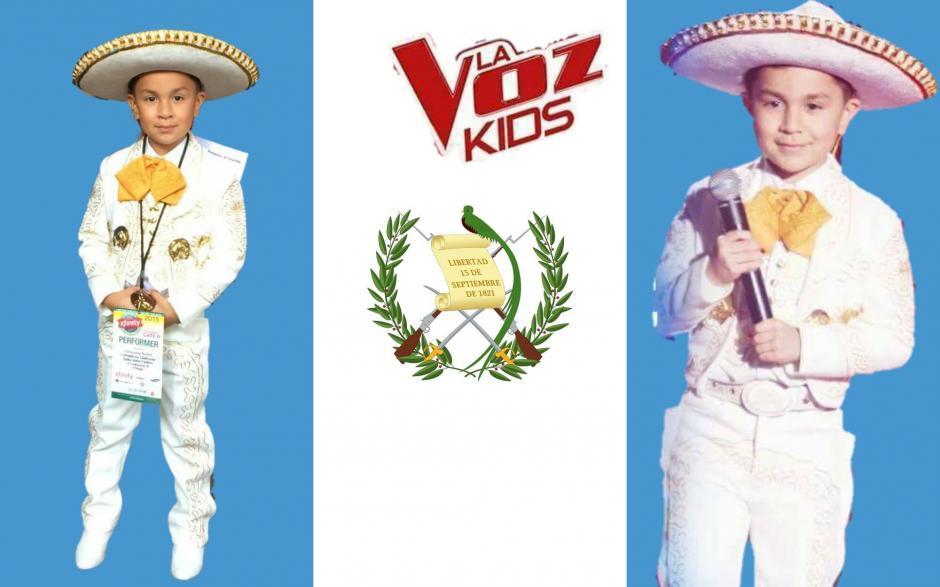 El pequeño representa a la comunidad inmigrante que vive en Estados Unidos. (Foto: Facebook Rancherito de Oro)