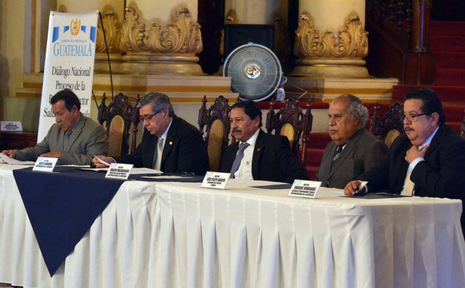 El gobierno de Jimmy Morales está impulsado una reforma para todo el sistema de Salud Pública. (Foto: Ministerio de Salud)