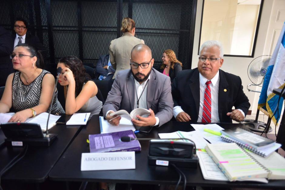 Fernando Guerra defiende a Baldetti en el caso TCQ. (Foto: Jesús Alfonso/Soy502)
