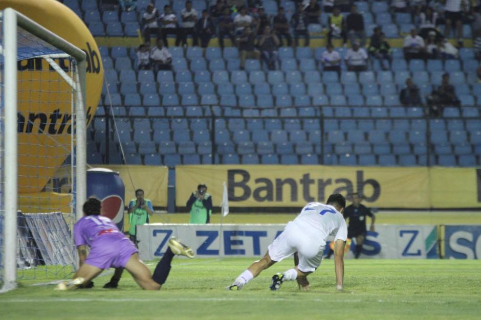 Este fue el segundo gol blanco. (Foto: Pedro Mijangos/Soy502)