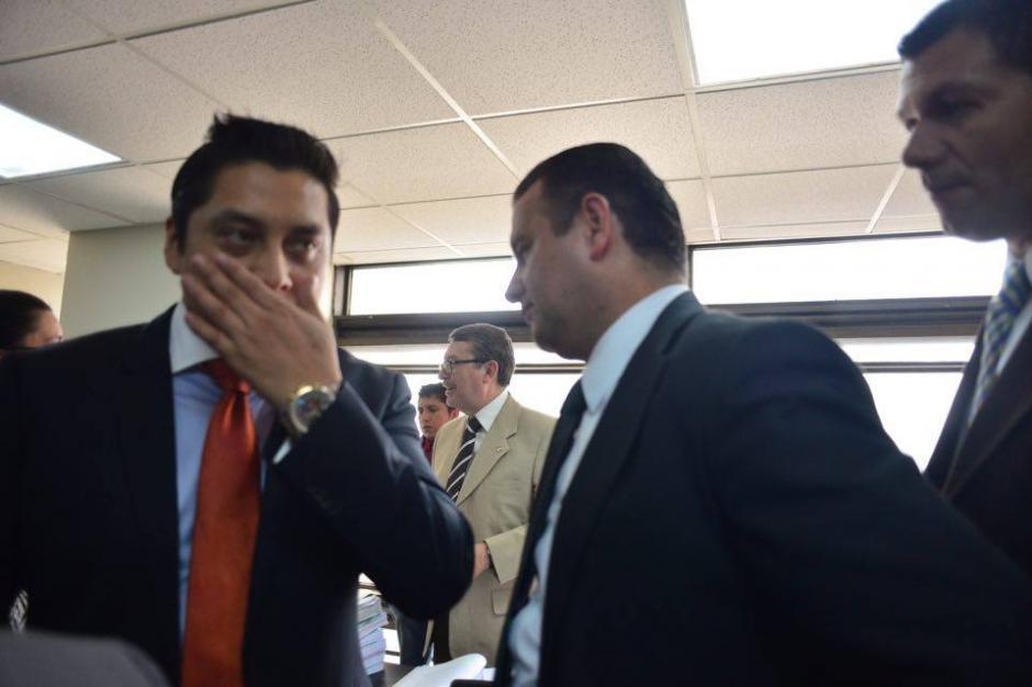 Mario Cano, defiende a Baldetti en el caso La Línea y Lago de Amatitlán. (Foto: Jesús Alfonso/Soy502)