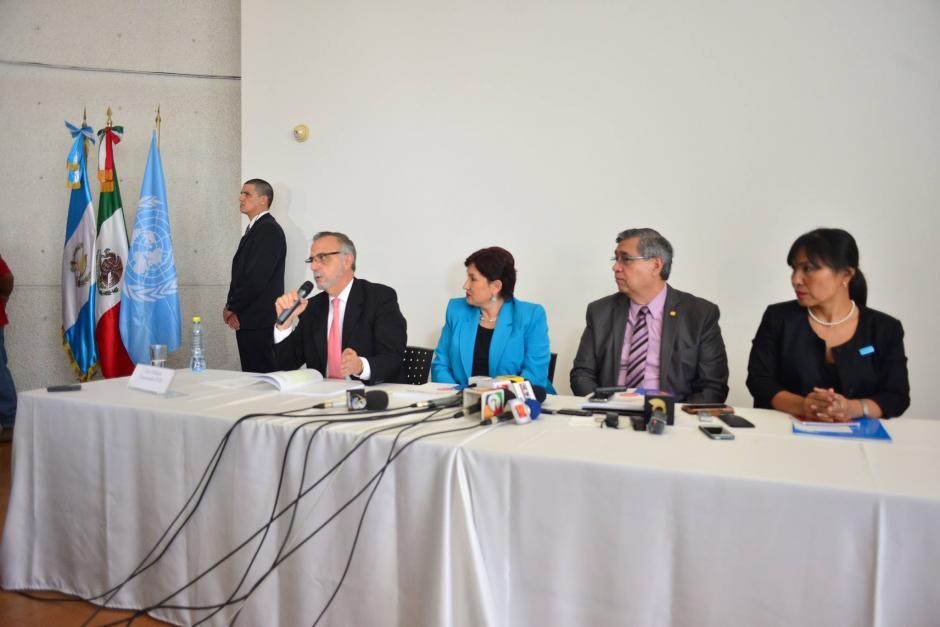 El informe fue entregado por la ONU al vicepresidente y a la Fiscal General. (Foto: Jesús Alfonso/Soy502)