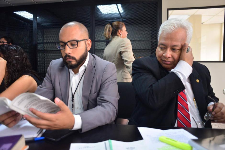 Los abogados expresaron que fue el MP quien perdió las actas. (Foto: Jesús Alfonso/Soy502)