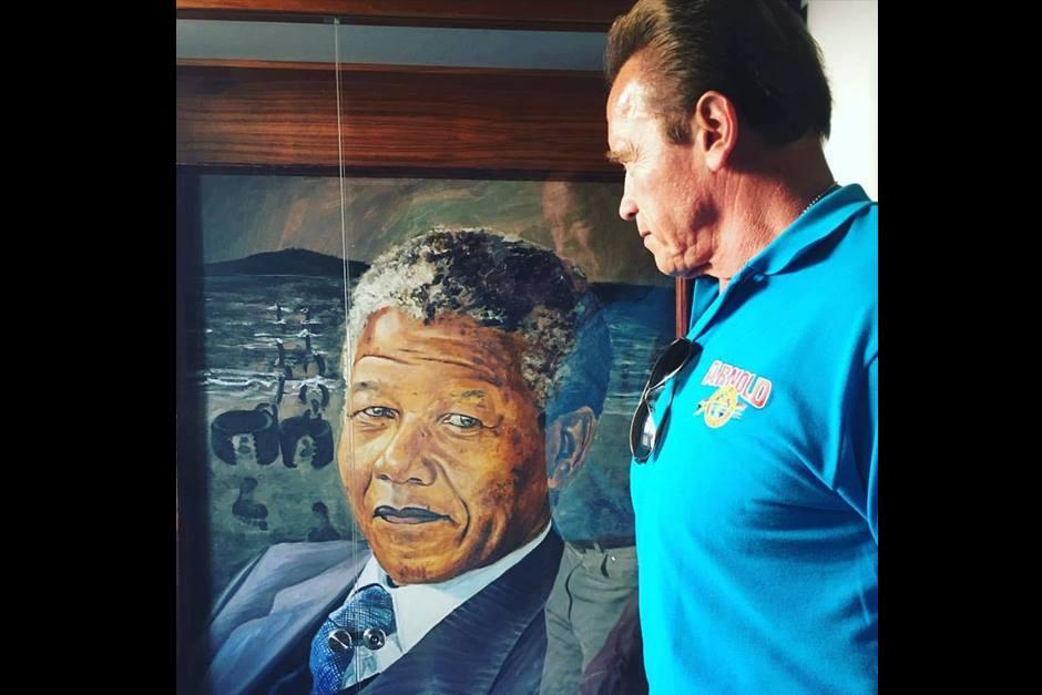 Arnold Schwarzenegger está de visita en Sudáfrica, visitando lugares turísticos. (Foto: Facebook Arnold Schwarzenegger)