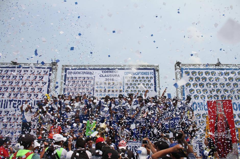 Este es el segundo título que consigue Suchi en el fútbol guatemalteco. (Foto: Luis Barrios/Soy502)