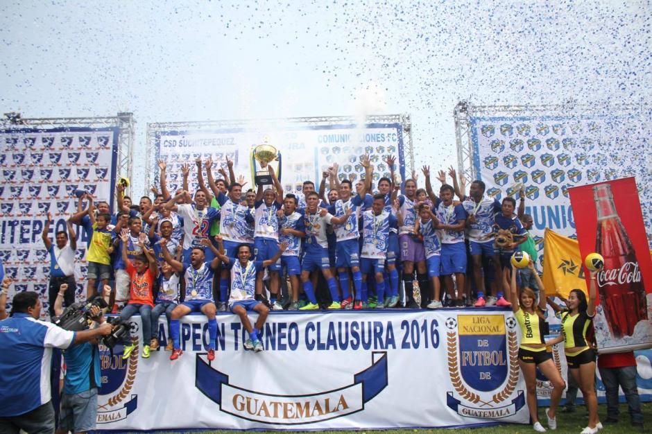 Suchitepéquez se coronó campeón del torneo Clausura 2016 tras vencer a Comunicaciones en marcador global 4 a 2. (Foto: Luis Barrios/Soy502)